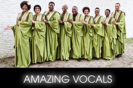 AMAZING VOCALS gospel festival amsterdam