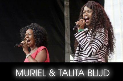 MURIEL EN TALITA BLIJD gospel festival amsterdam